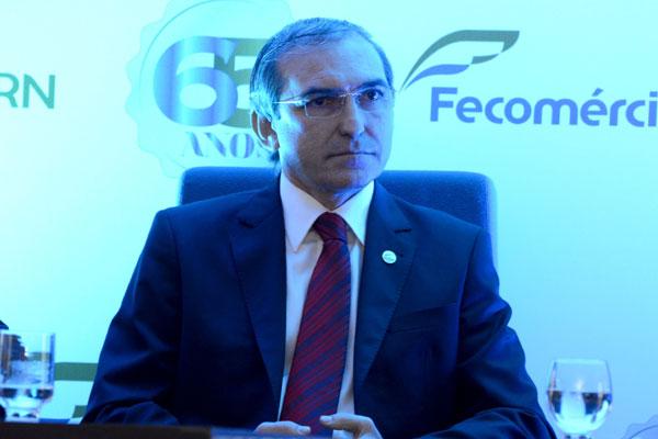 Queiroz, presidente da Fecomércio: programação especial