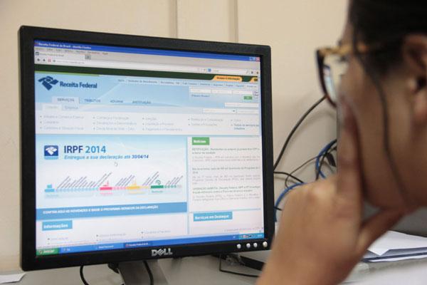O programa gerador da declaração está disponível na página da Receita Federal na internet