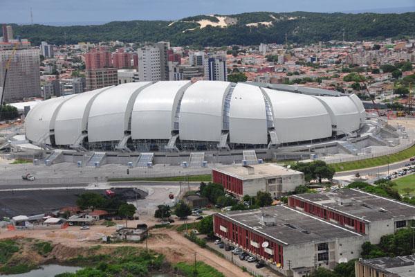 Natal vai sediar quatro jogos do mundial na Arena das Dunas