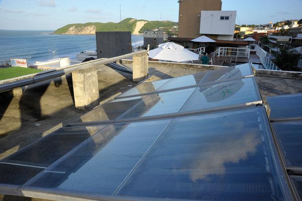 Hotel em Natal: Empresas do setor estão entre as poucas que usam energia solar no estado