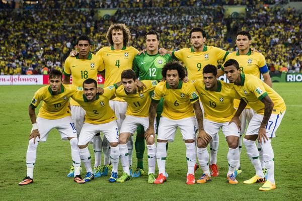 Seleção  Brasileira atingiu a 3ª posição no ranking da Fifa