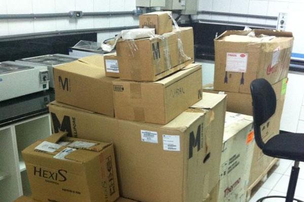 Material encaminhado para o Itep está nas caixas desde 2011