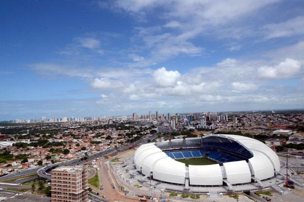 Estádio foi um dos projetos pensados para a Copa e está na lista dos que foram concluídos a tempo de receber os torcedores na capital