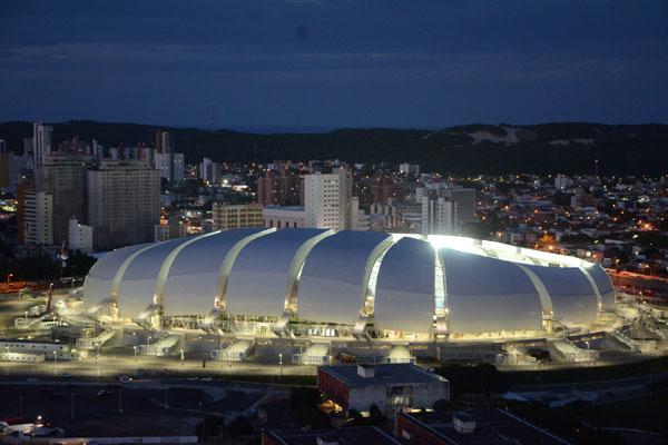 Arena das Dunas está 100% preparada para receber os jogos e ganhou o título de melhor estádio pelos membros do COL