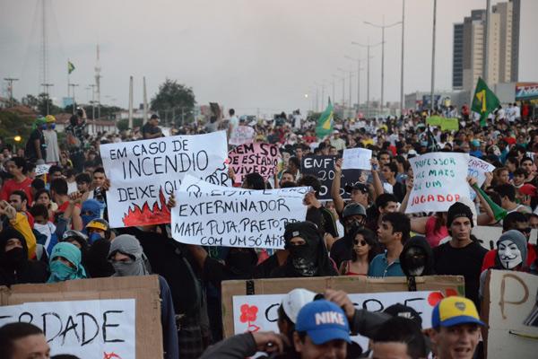 Protestos são vistos por Rosalba como uma ameaça ao turismo no Rio Grande do Norte