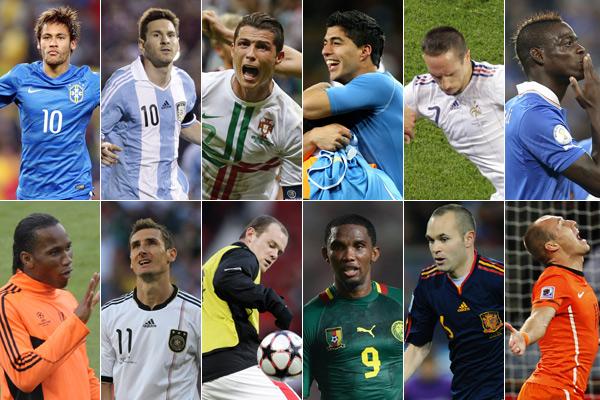 Confira pré-convocações de todas as equipes que participarão da Copa