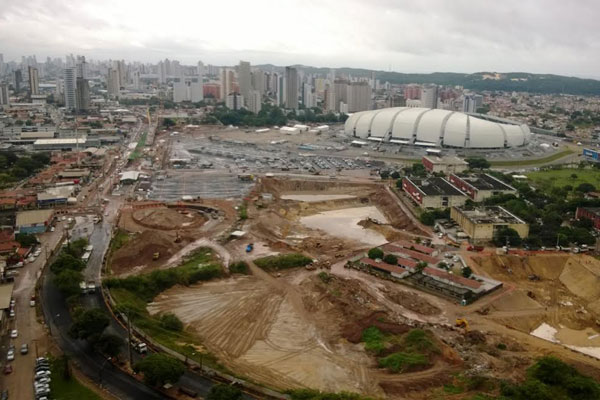 Obras de mobilidade no entorno da Arena das Dunas receberão nome de Dom Eugênio Salles