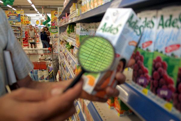Substâncias alergênicas, como glúten, ovo, leite e nozes devem ser indicadas nos rótulos