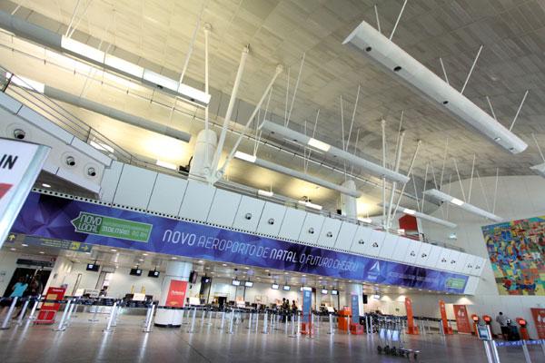 Grupo de trabalho enviado pela Infraero fará avaliação dos equipamentos do aeroporto e vai analisar a destinação de cada um