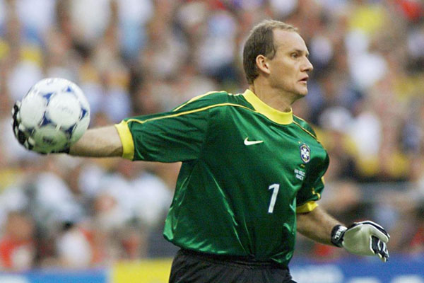 Taffarel disputou duas copas pela Seleção Brasileira