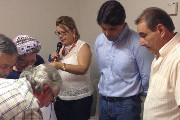 Felipe Maia e José Agripino acompanharam votação