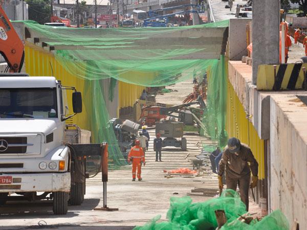 Estruturas foram finalizadas, segundo a Semopi, e recebem limpeza, acabamento e sinalização