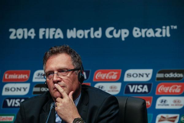 O secretário-geral da Fifa, Jérôme Valcke, fez o anúncio sobre os investimentos