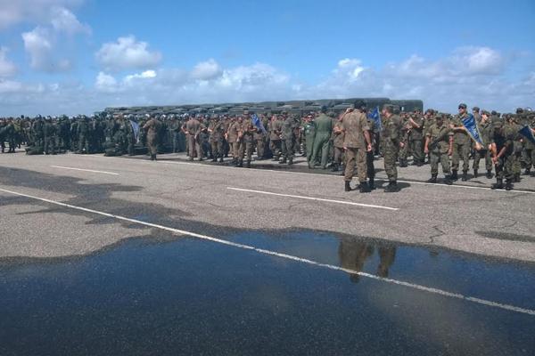 Forças Armas disponibilizarão 4700 homens para atuar no RN durante a Copa