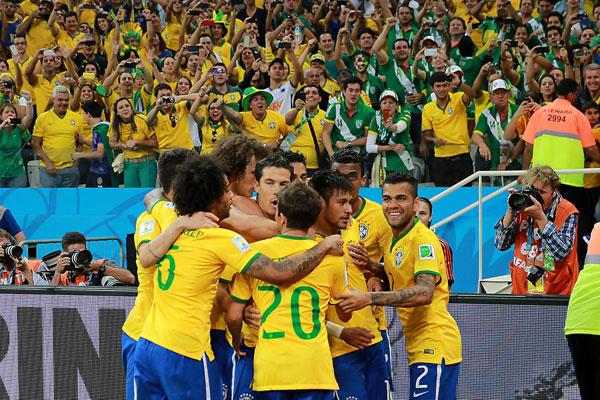 Jogo terminou em 3 a 1 para o Brasil