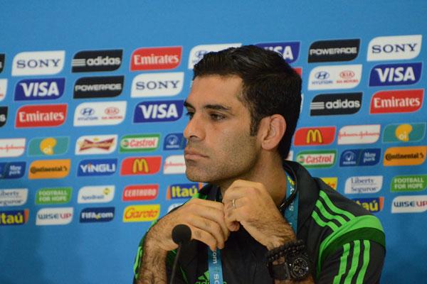 Rafa Marquez, do México, está confiante com sua seleção