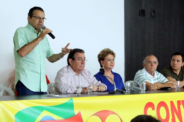 Henrique Eduardo afirma que coligação homologada em convenção defende o crescimento do RN