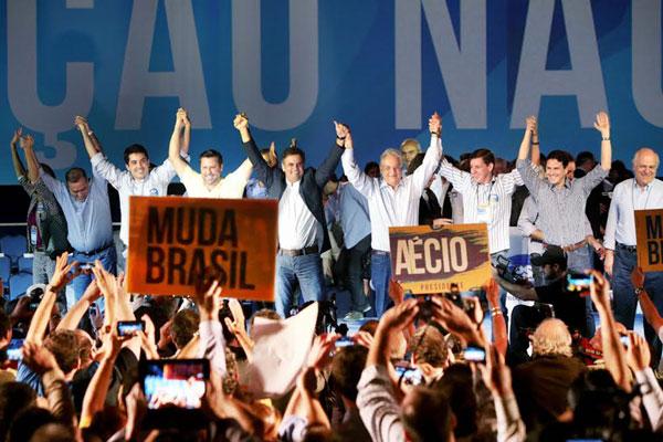 Aécio Neves é confirmado, oficialmente, como candidato a presidente da República pelo PSDB