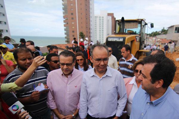 Ministro garantiu que Governo Federal pode ajudar na relocação de famílias
