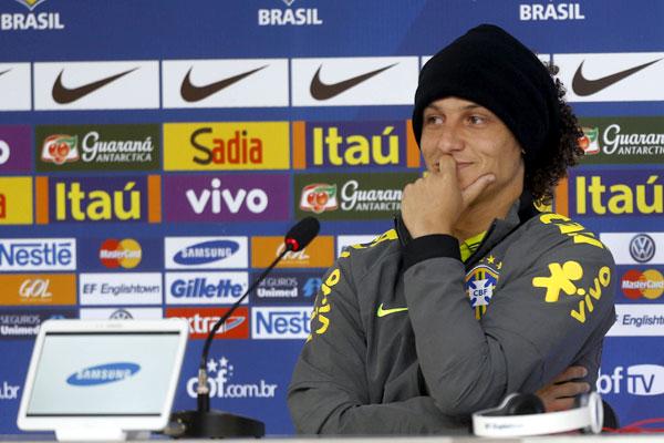 Em coletiva, David Luiz destacou o nível das seleções na Copa do Mundo
