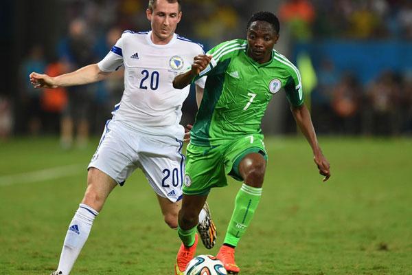 A seleção da Nigéria venceu a partida por 1 a 0 na Arena Pantanal, em Cuiabá