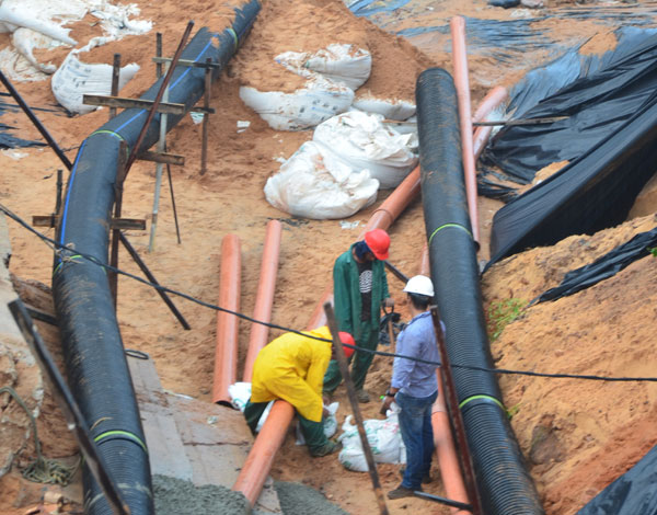 Obras emergenciais devem ser encerradas em até dez dias