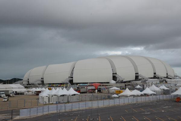 Arena das Dunas volta a receber jogos no dia 15 de julho