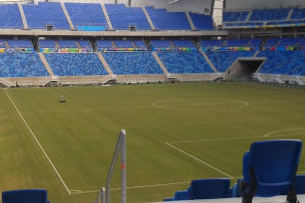 Gramados de estádios que receberão jogos das séries A e B terão medidas padronizadas