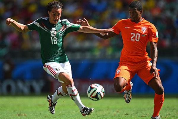 De virada, Seleção da Holanda vence o México no Castelão