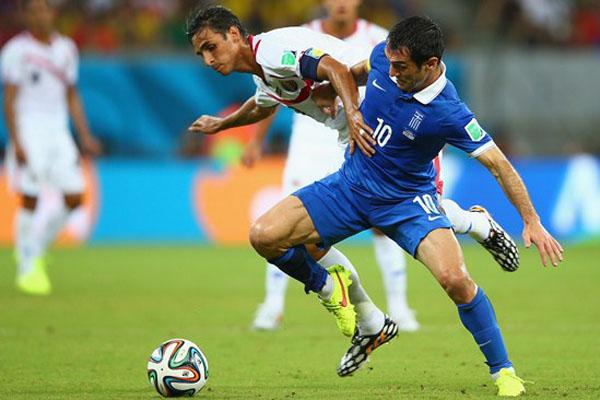 A Grécia foi valente e fez sua melhor partida na Copa. Mas a festa hoje é a da Costa Rica, que terá a dura missão de enfrentar a poderosa Holanda no próximo sábado