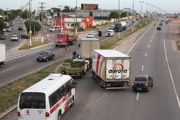 Projeto prevê construção de viaduto nas proximidades do Parque Aristófanes Fernandes