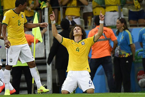 David Luiz se tornou um dos principais jogadores da Seleção Brasileira durante a Copa do Mundo