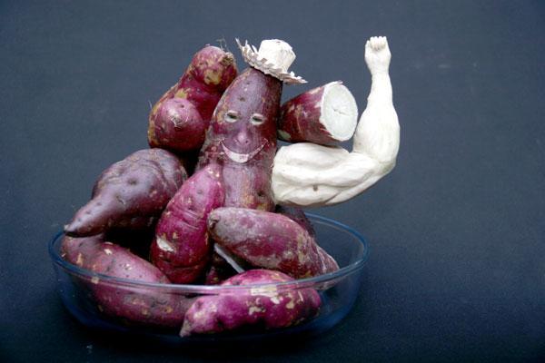 Batata-doce faz sucesso como importante fonte de energia para desportistas por ser carboidrato de baixo índice glicêmico