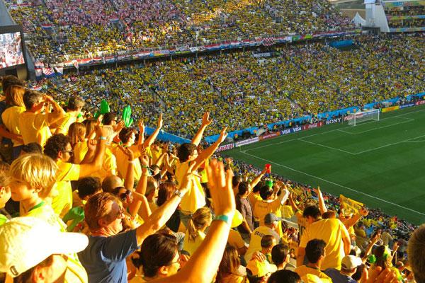 Pela Arena Corinthians, Fan Fest e Vila Madalena passaram um milhão de pessoas, diz Prefeitura