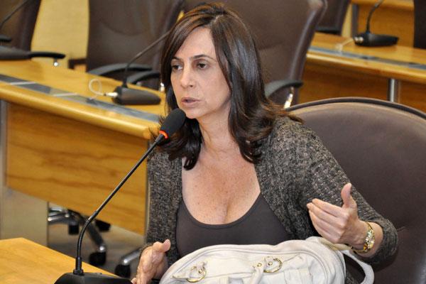 Márcia Maia foi quem propôs o fim do sigilo do voto na Casa