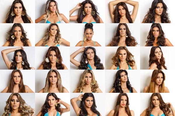 Conheça as candidatas no Miss RN 2014