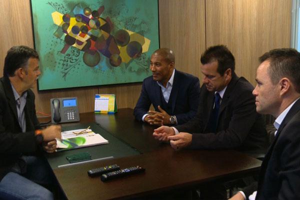 Nova comissão técnica esteve reunida na sede da CBF e definiu os planos para a Seleção Brasileira