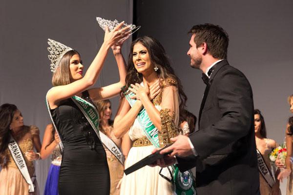 Deise foi coroada e representará Rio Grande do Norte no Miss Brasil