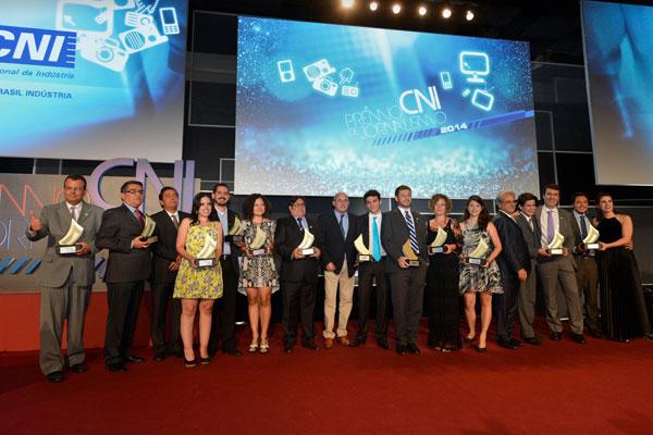 Com o Prêmio Nacional da Confederação Nacional das Indústrias, na categoria Internet, a TN soma 12 premiações em 2013/2014