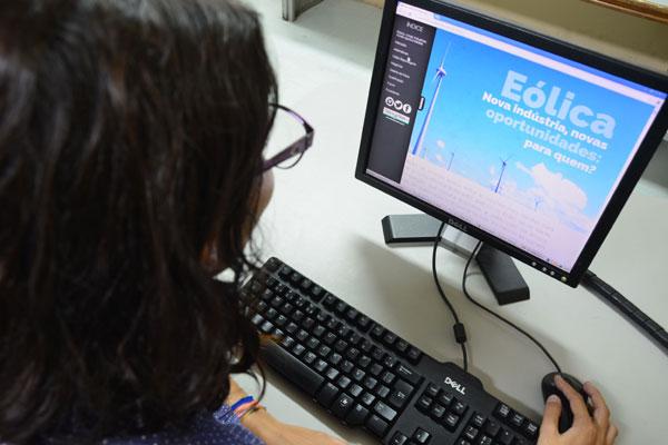 WebReportagem sobre eólicas venceu Prêmio CNI - Internet