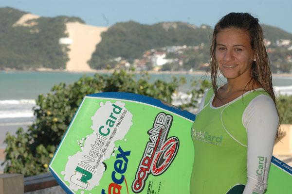 A potiguar Priscilla Medeiros está animada com a competição