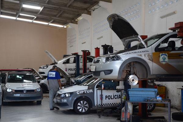 Natal: veículos Gol, que prestam serviços à Polícia Militar não estão sendo liberados da revisão