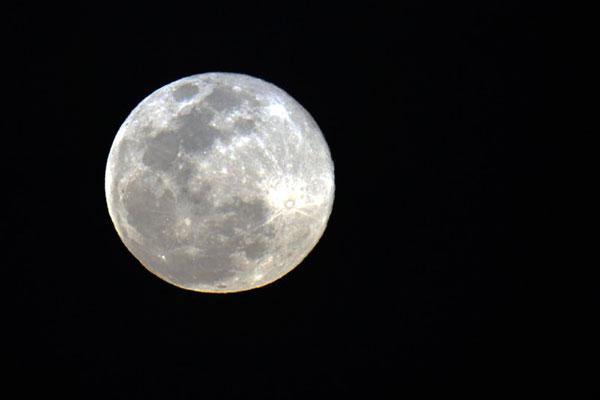 Fenômeno acontece quando a lua atinge o ponto mais próximo da Terra