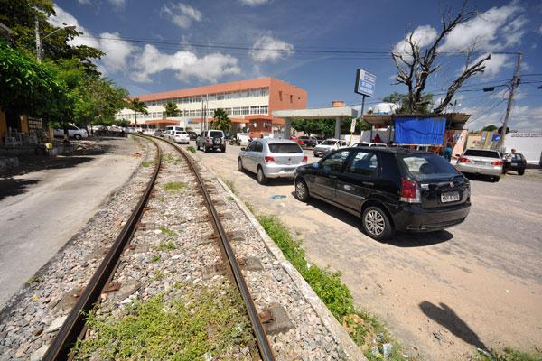 Área de trens permanece insegura