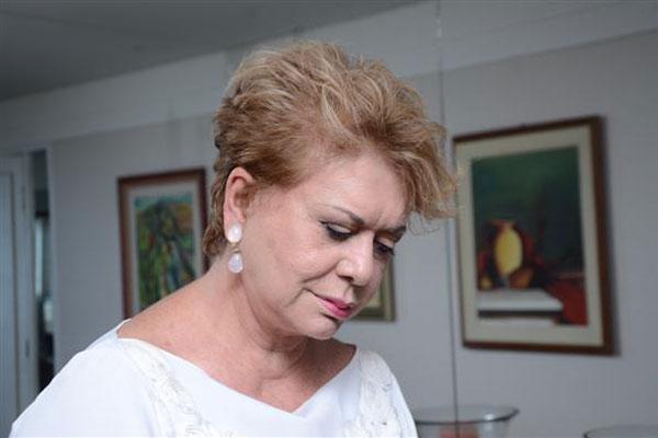Wilma esteve com Eduardo Campos pela última vez na convenção nacional do PSB
