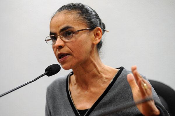 Atual candidata a vice, Marina Silva tem se recusado a qualquer conversa sobre a nova chapa