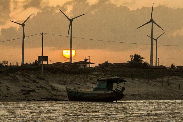 Parque eólico no RN: O Nordeste tem 99 usinas em operação gerando energia a partir do vento