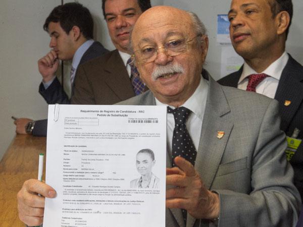Documentação das novas candidaturas foi levada ao TSE pelo presidente Roberto Amaral