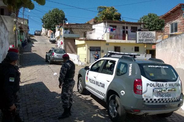 Após assalto, polícia fez diligências em Mãe Luiza em busca dos bandidos