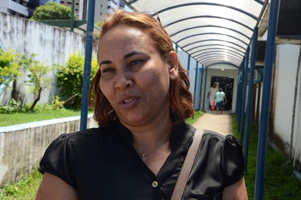 Ao procurar a Unicat, ontem, para receber o Alenia, usado pela mãe por causa de problemas pulmonares, Maria José saiu de mãos vazias